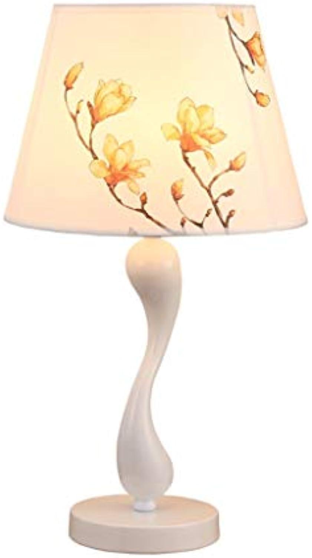 Tischlampe Moderne einfache Tuch Craft Kreative Mode Schwan Tisch, Wohnzimmer Nacht warmes Licht Nachtlicht, LED
