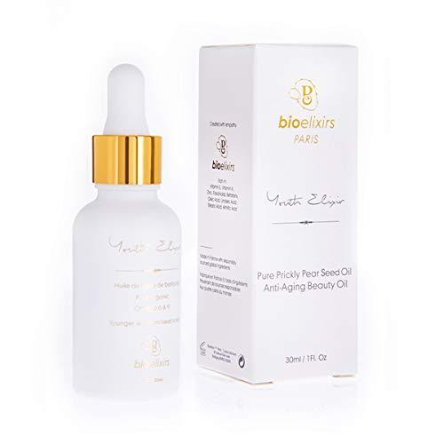 Aceite de Semillas de Higo Chumbo orgánico 100% puro y natural antienvejecimiento...