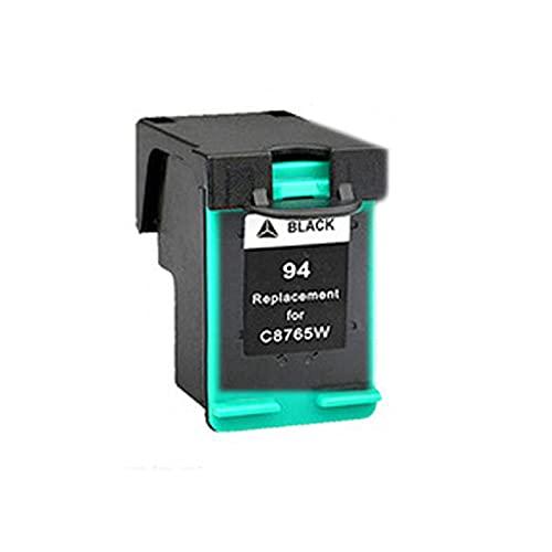 Cartuchos de tóner compatibles HP 94XL 95XL para HP Deskjet 460C 5740 6520 6540 6620 6840 9800 OfficeJet 100 150 6200, color negro