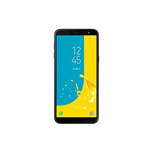 Samsung Galaxy J6 (2018) Smartphone, Nero, 32 GB Espandibili, Processore Octa-core, 1,6 GHz, Dual Sim [Versione Italiana]
