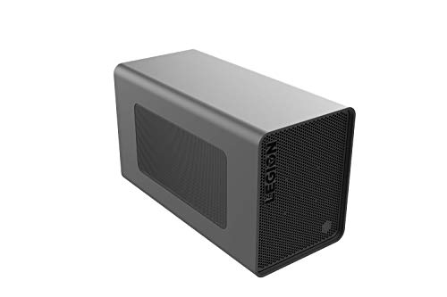 Lenovo Legion BoostStation - Grafikkartengehäuse (eGPU) mit Thunderbolt 3 (Docking Station - 2 x USB 3.1, USB 2.0, Ethernet, SATA-Slot) RTX 2060 6GB (NVIDIA GeForce & AMD Radeon Support) grau