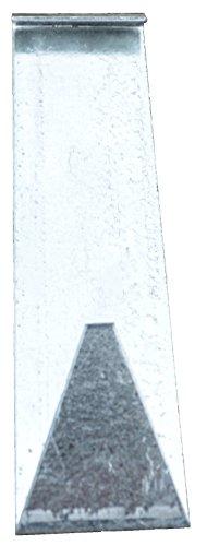 AMISH WARES Handmade Galvanized Siding House Hook Decor Hanger, Set of 3