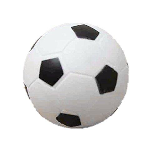 SODIAL(R) Petit Football Baby-foot En Plastique Dure Balle Table Homo logue Jeu Jouet Enfant noir blanc