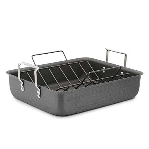 Calphalon 16-Inch Roasting Pan with Nonstick Rack