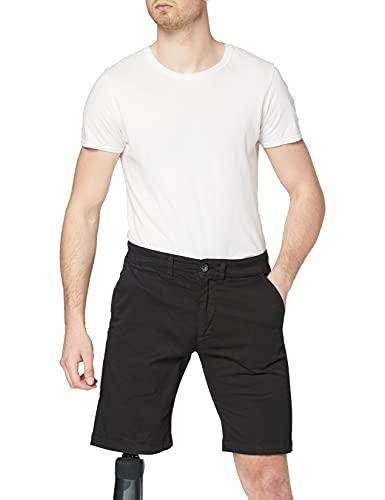 Pepe Jeans Herren Mc Queen Short Badeshorts, Schwarz (Black 999), W36 (Herstellergröße: 36)