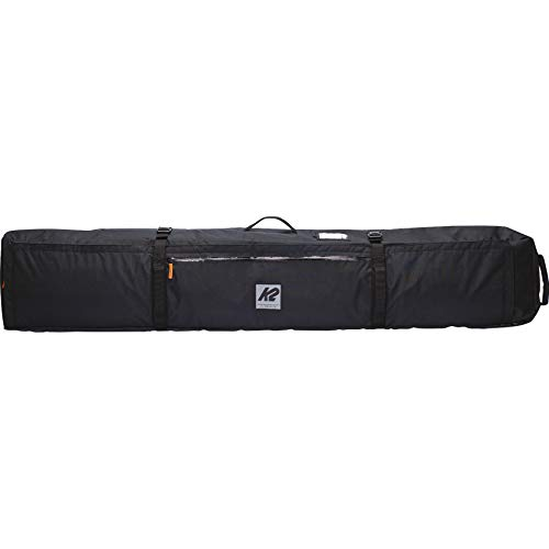 K2 Snow Unisex – Adult Roller Ski Bag Ski Bag, Unisex– Adults, Ski Bag., 20E5002, Black, 185cm...