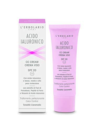 L'Erbolario CC Cream with Hyaluronic Acid – caramel