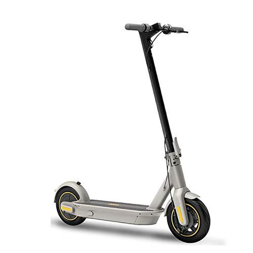 GAOTTINGSD Patinetes para Niños 350W Motor 24 km/h, la aleación de Aluminio de Material, 17.5kg Peso, con 10 Pulgadas Neumáticos