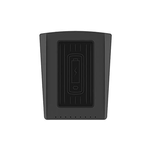ORIYUKKI Cargador inalámbrico de coche 10 W negro antideslizante Estera de carga inalámbrica para Cadillac XT5 XT6 2019-21