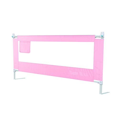 WYJW 220cm Extra Lange BedRails, Verticale Lifting Bed Guard Veiligheid Bescherming Bescherming Zuigelingen Veiligheid Guardrail met Dubbele Vergrendeling Drukknop (Hoogte: 71~83cm)