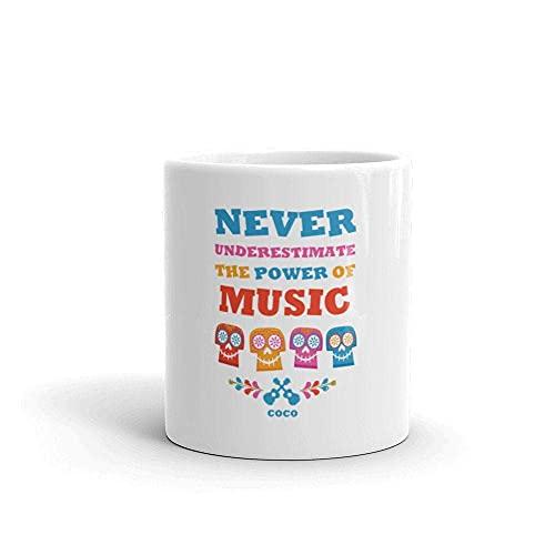 N\A Taza de café Inspirada en Coco de Disney, Amante de la música, Regalo para Maestros, Regalo para Maestros, Regalo Divertido para Maestros