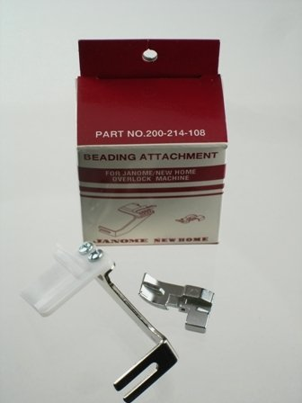 Purchase Janome Serger Overlock Beading Attachment