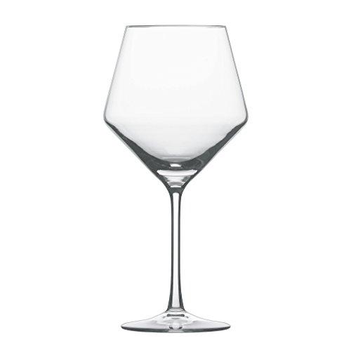 Schott Zwiesel Vetro Cristallo Tristan. Bicchieri da Collezione, Senza Stelo, Bicchieri da Vino Rosso Bordeaux, 524,5Grammi, Set da 6, Cristallo, Burgundy, Set da 6