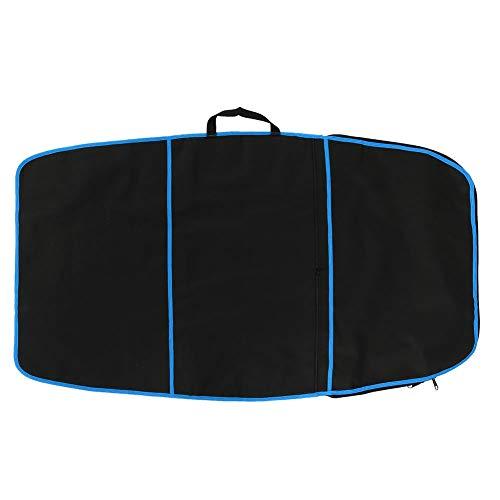 Jadeshay Sac de Planche de Surf, Housse de Bodyboard de Planche de Surf, Sac de Transport en Polyester, Accessoire de Surf (Bande Jaune, Bande Rouge, Bande Bleue) (Couleur : Blue Stripe)