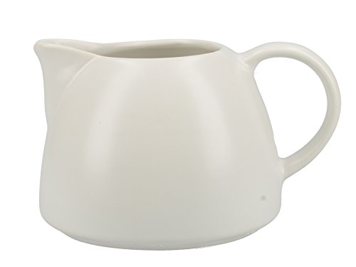 La Cafetière Barcelona Collection - Jarra de cerámica (380 ml), Color Blanco