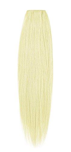 American Dream de qualité Platinum 100% 50,8 cm trame de cheveux humains Couleur 613 – Blond Crème