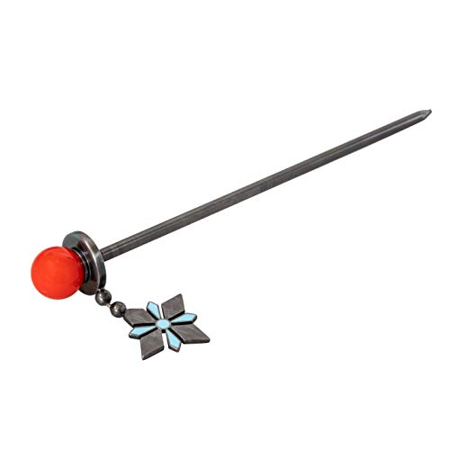 OW Mei Hair Stick Replica Hairpin 1:1 Props Halloween Cosplay Costume Accessory Jewelry for Women Girl
