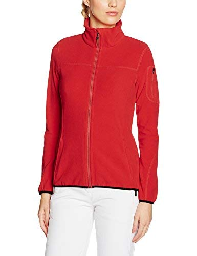 Northland Professional Damen Fleecejacke Cora, fire red, 46
