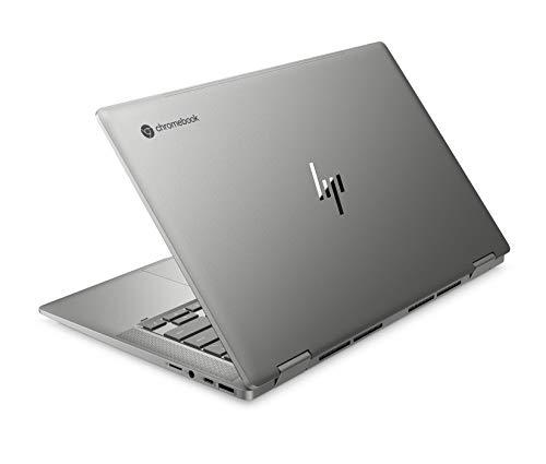 HP Chromebook x360 14c-ca0290ng (14 Zoll / Full HD IPS Touch) 2in1 Chromebook (Intel Core i3-10110U, 64 GB eMMC, 8 GB DDR4 RAM, Intel UHD Grafik, Chrome OS) Silber - 3