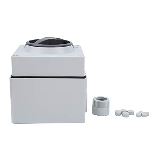 Interruptor a prueba de polvo Botones giratorios de encendido y apagado a prueba de agua Interruptor de botón momentáneo impermeable para la industria(4P10A)
