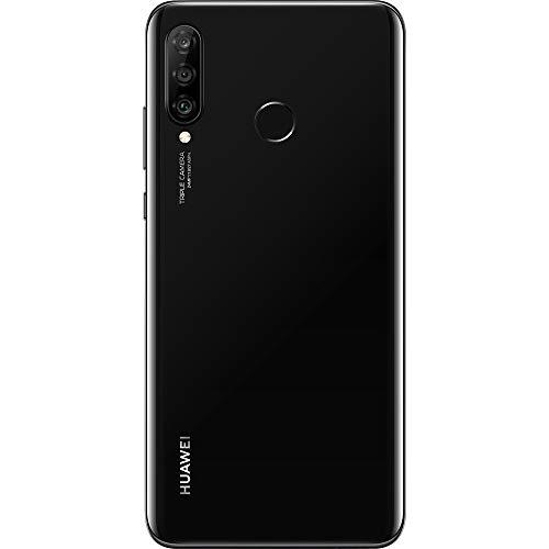 Huawei P30 Lite (Midnight Black, 4GB RAM, 128GB Storage)