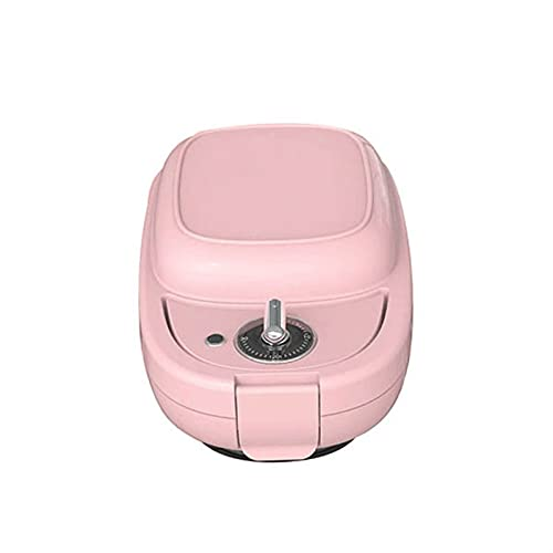 KISAD Multifunctional Breakfast Machine Sandwich Maker Breakfast Maker Waffle Maker Light Food Machine Home Multifunctional Heating Toast Press Roasting Machine (Color : Pink)
