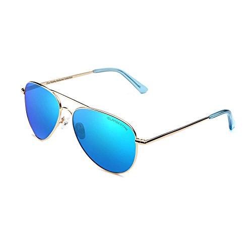 CLANDESTINE A10 Light Blue by Elsa Pataky - Gafas de Sol Nylon HD Hombre & Mujer