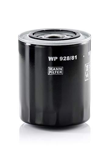 Originale MANN-FILTER Filtro Olio WP 928/81 – Per Auto