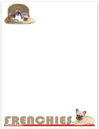 Animal Theme Gifts French Large Bulldog Set Ranking security integrated 1st place Stationery