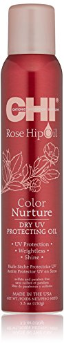 CHI Rose Hip Oil, Coiffant Huile Sèche Protectrice UV 150g