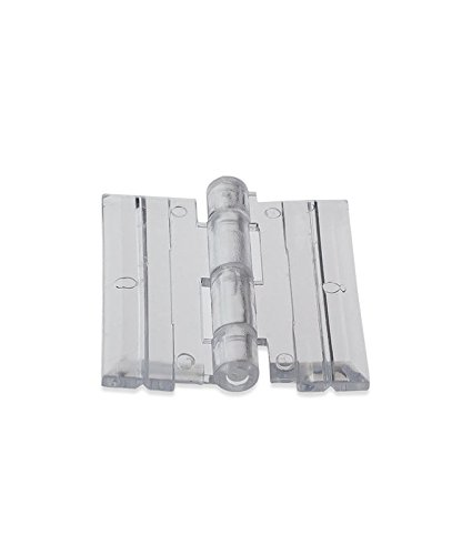 Source One 10 Pack Clear Acrylic Plexiglass Lucite Hinge