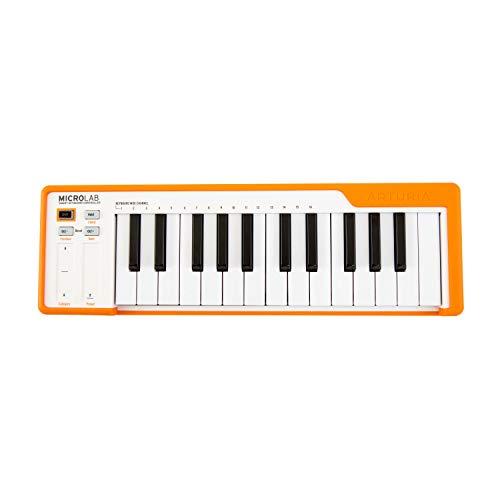 Arturia MicroLab - Teclado controlador de 25 teclas, naranja