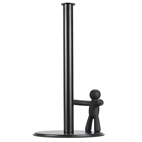 JJZXD Soporte for Toallas de Papel: Soporte y dispensador Vertical Moderno for Toallas de Papel, se Adapta a Rollos estándar y de tamaño Jumbo for encimera de Cocina