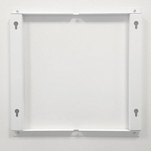 VASNER Citara Glas Infrarotheizung 450 Watt weiß 62x62cm Wandmontage Sicherheitshalterung Bild 3*