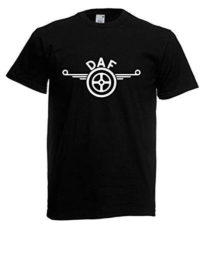 T-Shirt - DAF Truck Logo (Schwarz, 3XL)