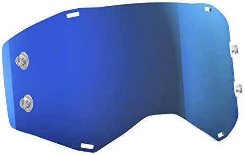 Scott Goggle Ersatzscheibe fÃŒr Prospect/Fury Electric blau Chrom AFC Works