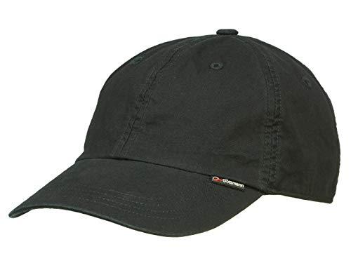 Göttmann Palma Baseballcap mit UV-Schutz aus Baumwolle - Schwarz (19) - 61 cm