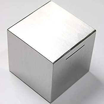 24H 7.9-inch Stainless Steel No-Outlet Piggy Bank for Adults Exist Only to Save Money Meaningful Gifts for a Kid/Baby Saving Now for a Brighter Future