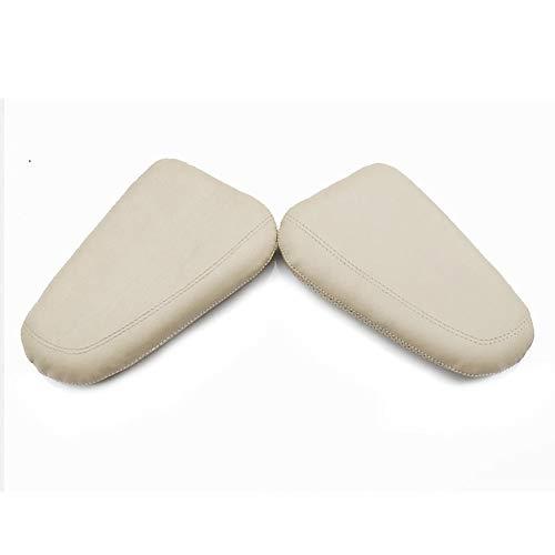 DLDBB Leder-Knieschoner für Auto-Innenkissen Komfortables elastisches Kissen Memory Foam Universal-Oberschenkelstützen-Zubehör für die BMW M-Modelle M2, M3, M4, M5, M8, Modelle 1990-2022