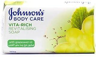 جونسون صابون مغذي بزيت بذور العنب