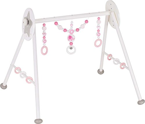 Gimnasio para bebés elefante, rosa