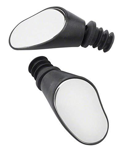 Sprintech Road Drop Bar Rearview Bike Mirror - Safety Bicycle Mirror - Pair Dropbar (Black)