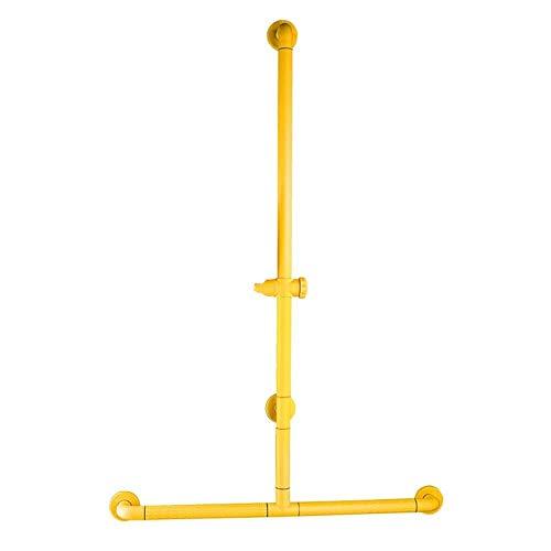 JIAHE115 veiligheidsbars voor badkamer Grab Bar T douchecabine antislip van roestvrij staal, 2 kleuren