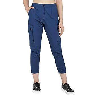 PlanningArt Women's Regular Fit Cargo Pants
