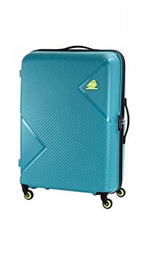 Kamiliant by American Tourister Kam Zakk Secure Polypropylene 79 cms Blue Hardsided Large Luggage FW3 (0) 40 003 (KAM Zakk Secure 79CM - Blue)