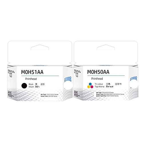 Accesorios para impresora M0H51AA M0H50AA Cabezal de impresión para HP GT 5810 5820 5822 Tanque 118 310 311 318 319 410 411 415 418 419 (Color: MOH50AA MOH51AA)
