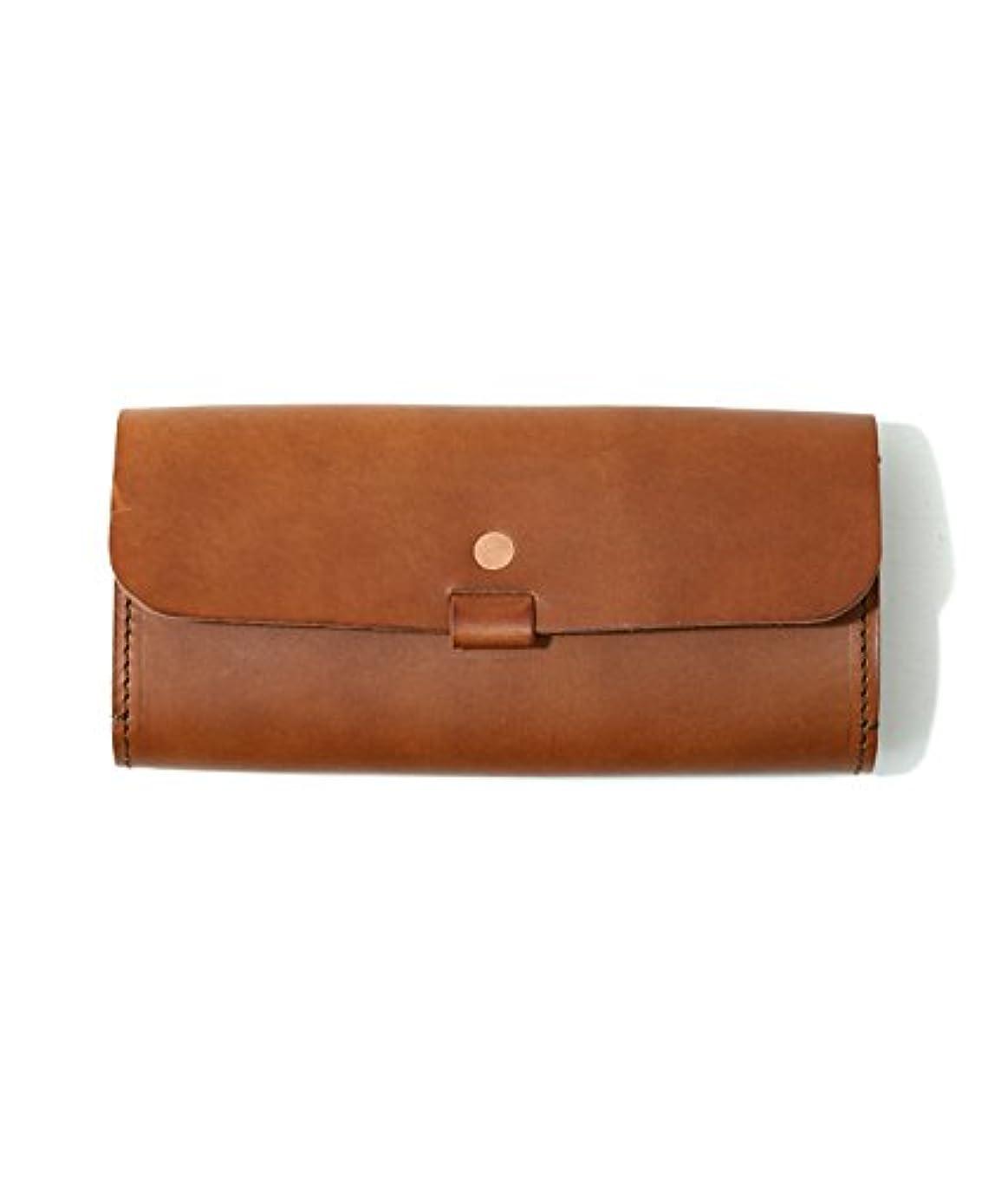 個人的なルーキー電気技師SLOW[ スロウ ] toscana wallet-camel(財布 ロング ウォレット toscana wallet)