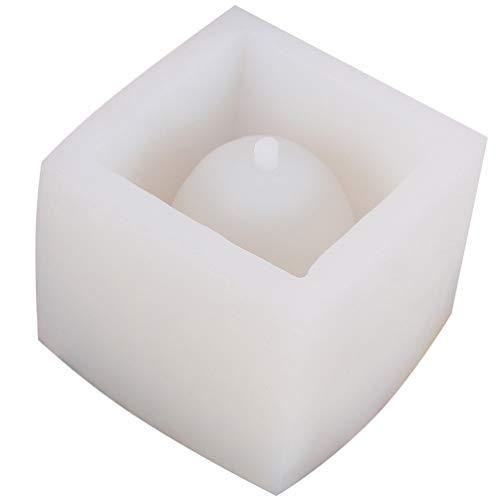 Artibetter Bloempot Diy Siliconen Mal Vierkante Planter Kristal Epoxy Maken Mallen Home Decor Voor Vetplant Ambachtelijke Keramische Klei Sieraden Maken