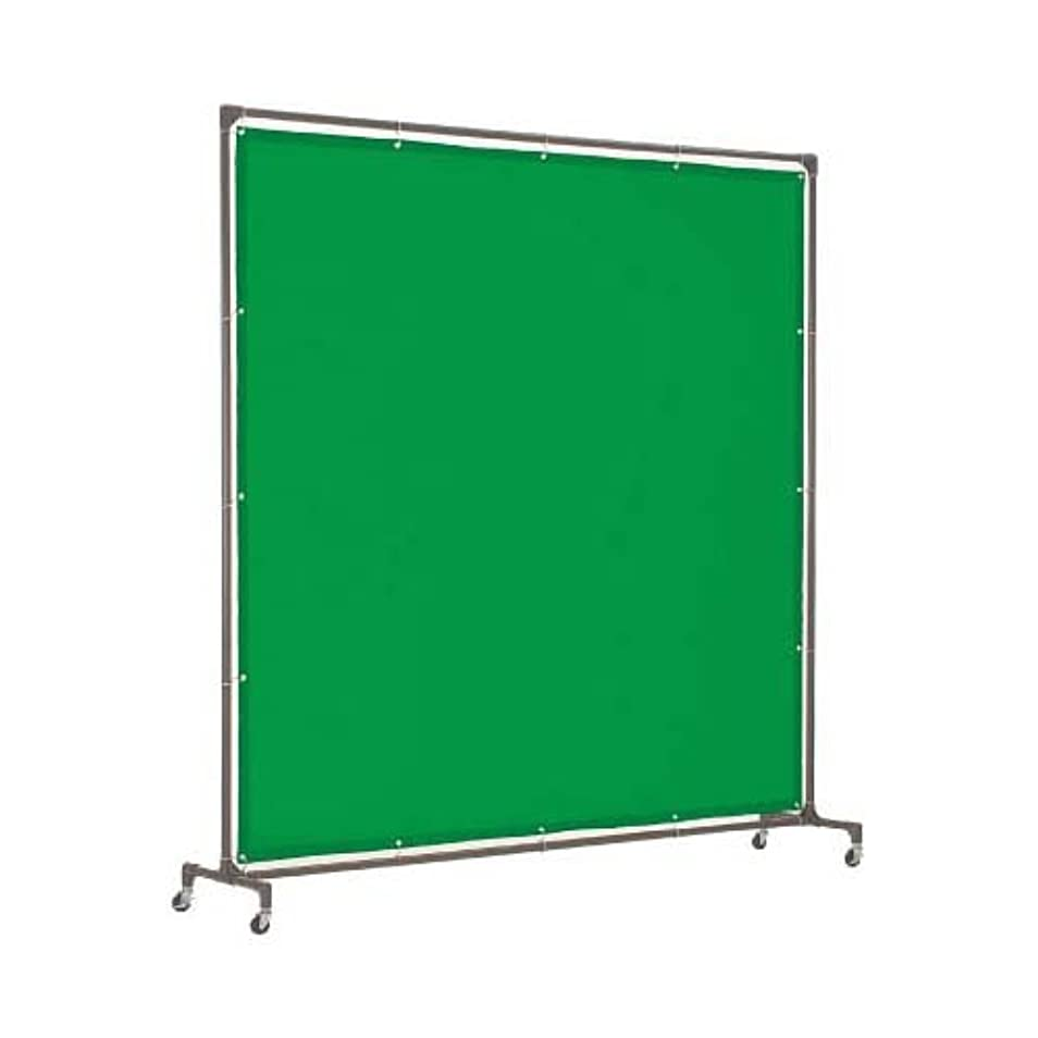 ラフレシアアルノルディ反映するいまTRUSCO 溶接遮光フェンス2020型単体緑 YFA-GN