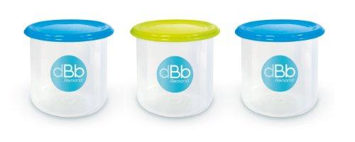 dBb Remond Set 3 Pots de Congélation - Contenance 300 ml
